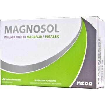 Magnosol Integratore Magnesio e Potassio 20 bustine effervescenti