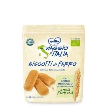Mellin viaggio italia biscotto farro 150 g