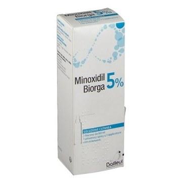 Minoxidil 5% biorga soluzione cutanea 60 ml
