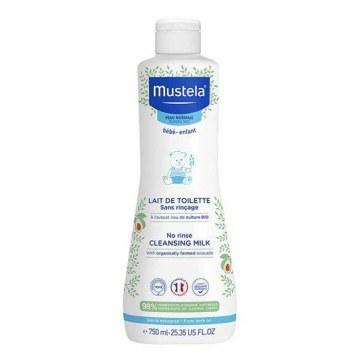 Mustela latte di toilette per la detersione del viso 750 ml