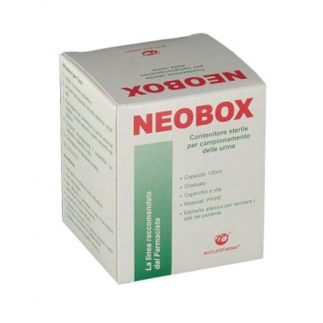 Neobox contenitore per urina da 120ml