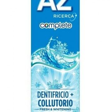 Oral b dentifricio az complete + collutorio whitening 65 + 10 ml