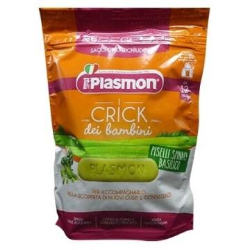 Plasmon crick spinaci e piselli 100 g