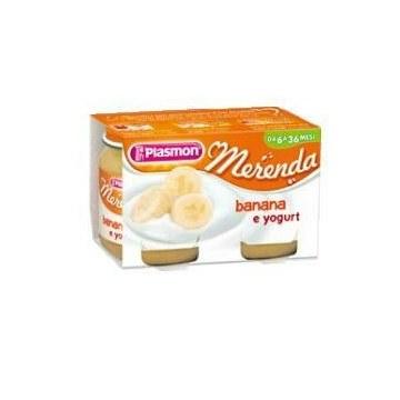 Plasmon omogeneizzato yogurt banana 120 g x 2 pezzi