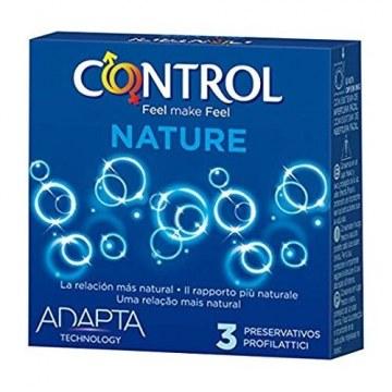 Profilattico control new nature 2,0 3 pezzi