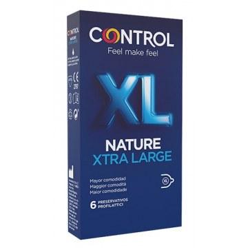 Profilattico control new nature 2,0 xl 12 pezzi