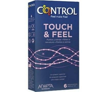Profilattico control touch & feel easy way 6 pezzi