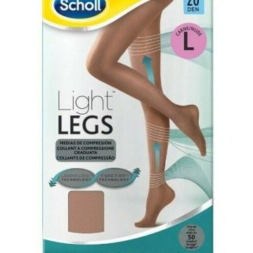 Scholl lightlegs 20 denari taglia l colore nude 1 paio