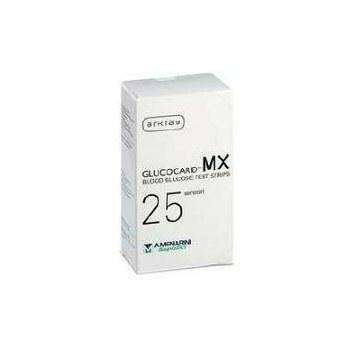 Glucocard MX Blood Glucose 25 Strisce Reattive Glicemia