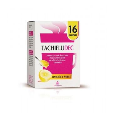 Tachifludec limone miele soluzione orale 16 bustine