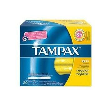 Tampax blue box regular 20 pezzi