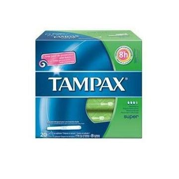 Tampax blue box super 20 pezzi