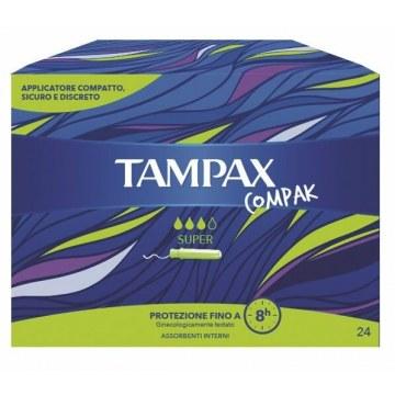 Tampax compax super 24pz