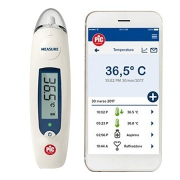 Termometro pic infrarossi auricolare