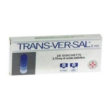 Transversal 3,75 mg Verruche 6 mm 20 cerotti