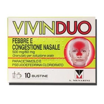 Vivinduo Febbre e Congestione Nasale 10 bustine