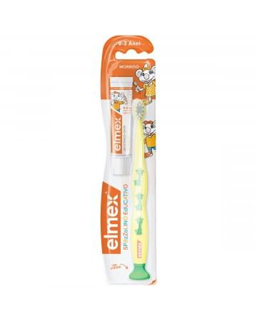 Elmex spazzolino bimbi educativo new 0-3 anni
