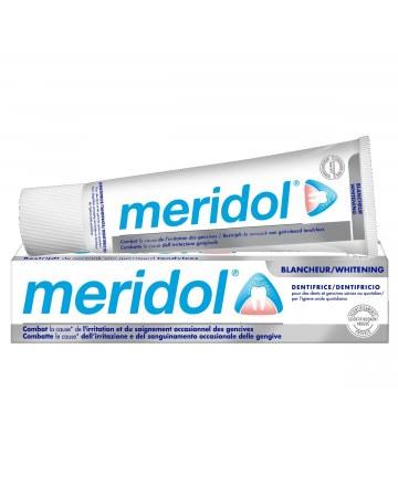 Meridol Whitening Dentifricio Protezione Gengive 75 ml
