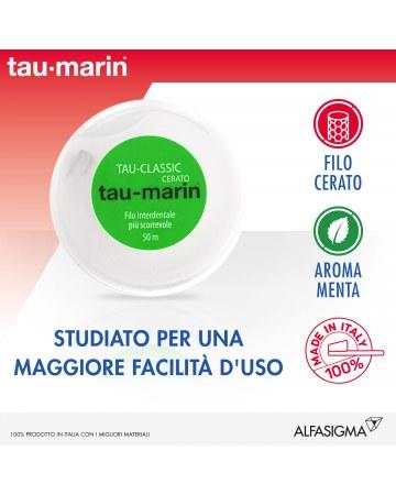 Tau-Marin Filo Interdentale Classico Cerato 50 mt