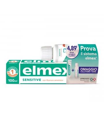 Elmex sensitive kit dentifricio + collutorio 100 ml