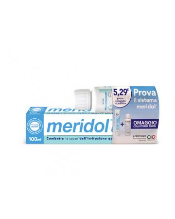 Meridol dentifricio gengive sane + collutorio 100 ml