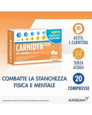 Carnidyn plus per la stanchezza 20 compresse masticabili