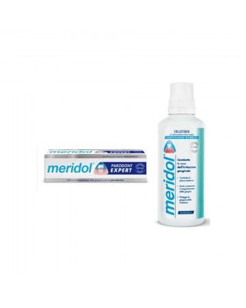 Special pack meridol parodont expert 1 dentifricio meridol parodont expert 75 ml + 1 collutorio meridol 100 ml in omaggio