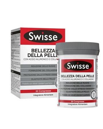 Swisse bellezza pelle acido ialuronico collagene 30 compresse
