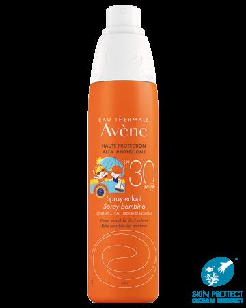 Avene Spray Solare Bimbi SPF 30 Viso e Corpo 200 ml