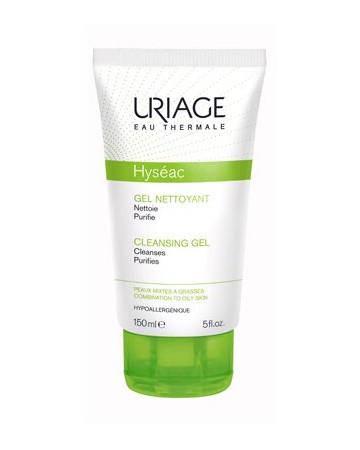 Hyseac gel nettoyant detetergente uriage 150ml