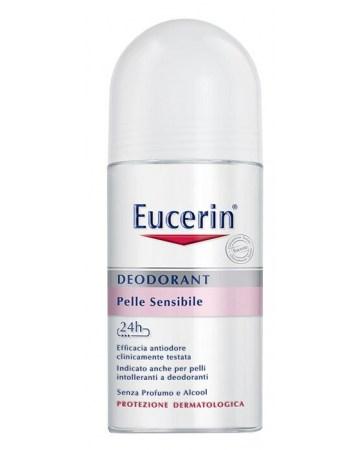 Eucerin deodorante roll-on pelli sensibili 50 ml