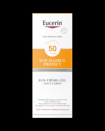Eucerin Sun Allergy Protect Sun Creme-Gel Viso Corpo SPF50 150 ml