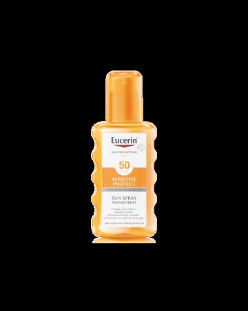 Eucerin Sensitive Protect Sun Spray Transparente SPF50 200ml