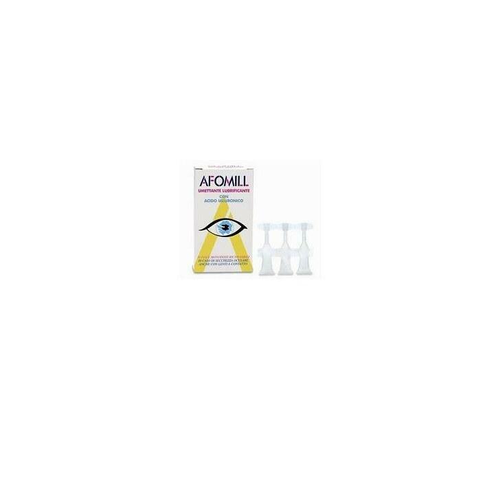 Afomill umettante lubrificante gocce oculari 10 ml