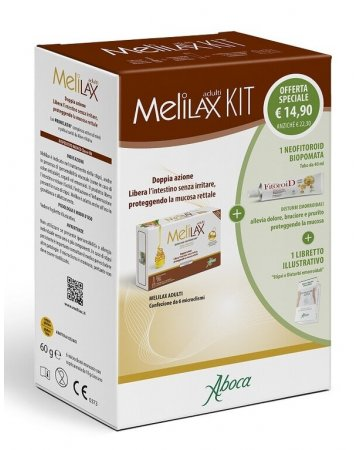 Melilax adulti kit con melilax adulti + neofitoroid biopomata